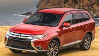 Mitsubishi's 2017 Outlander crossover has lots of technology and room for up to seven - Photo