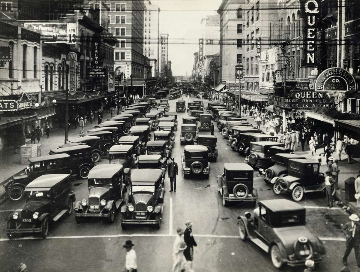 PHOTOS: Rarely-seen photos from Houston will dazzle history buffs  We recently uncovered a hefty cache of images from Houston's history (such as this view of Texas at Main Street) that many people have never seen. Ranging from the tragic, to the mundane, to the triumphant, readers will love seeing the city they love evolve over the decades.    Click through to see images of Houston you have probably never laid eyes on...