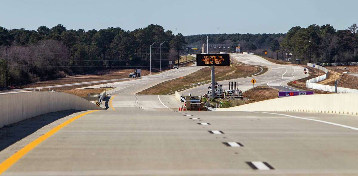 Keep going to see just how big the Grand Parkway compared to other landmasses. The portion of the Grand Parkway connecting the Cypress, Tomball and The Woodlands areas, opened in February 2016. The next phases are set to start construction later this year.
