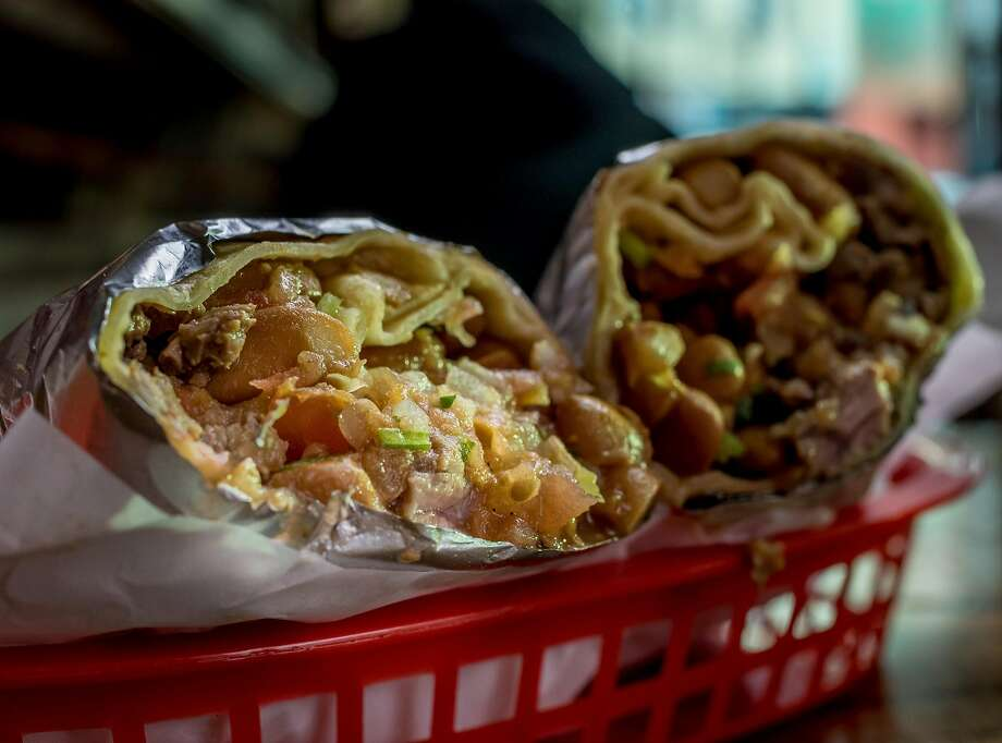 Click through the slideshow to see San Francisco's top 25 places to get a burrito according to Yelp. Photo: John Storey, Special To The Chronicle