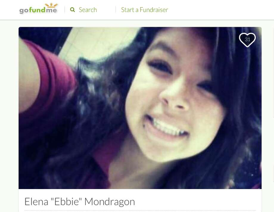 Elena Mondragon's Go Fund Me page. Mondragon was fatally shot in Hayward on Tuesday by Fremont detectives who opened fire on a car officials said was stolen and had slammed into the officers' unmarked patrol vehicle during a traffic stop. Photo: Screen Grab