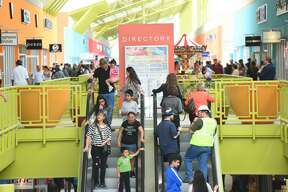 The Outlet Shoppes of Laredo open their doors to the public on Thursday, March 16, 2017.