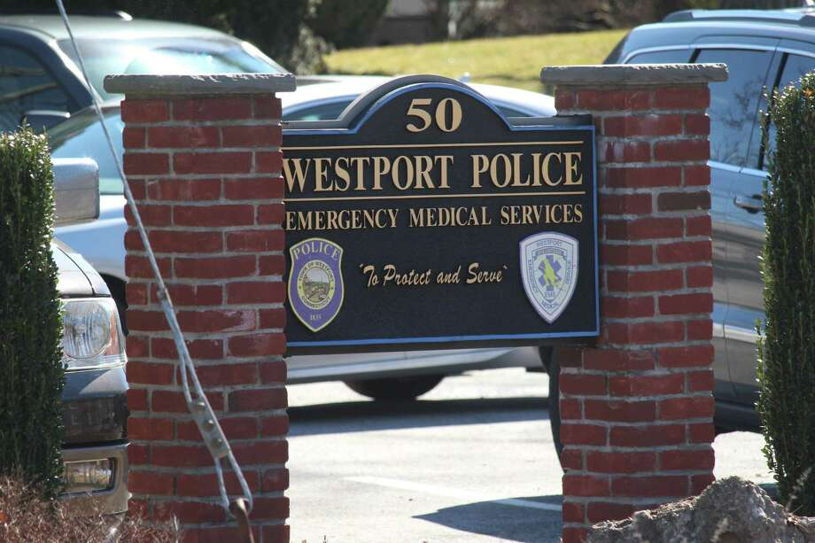 The Westport Police Department. Photo: Chris Marquette / Hearst Connecticut Media / Westport News