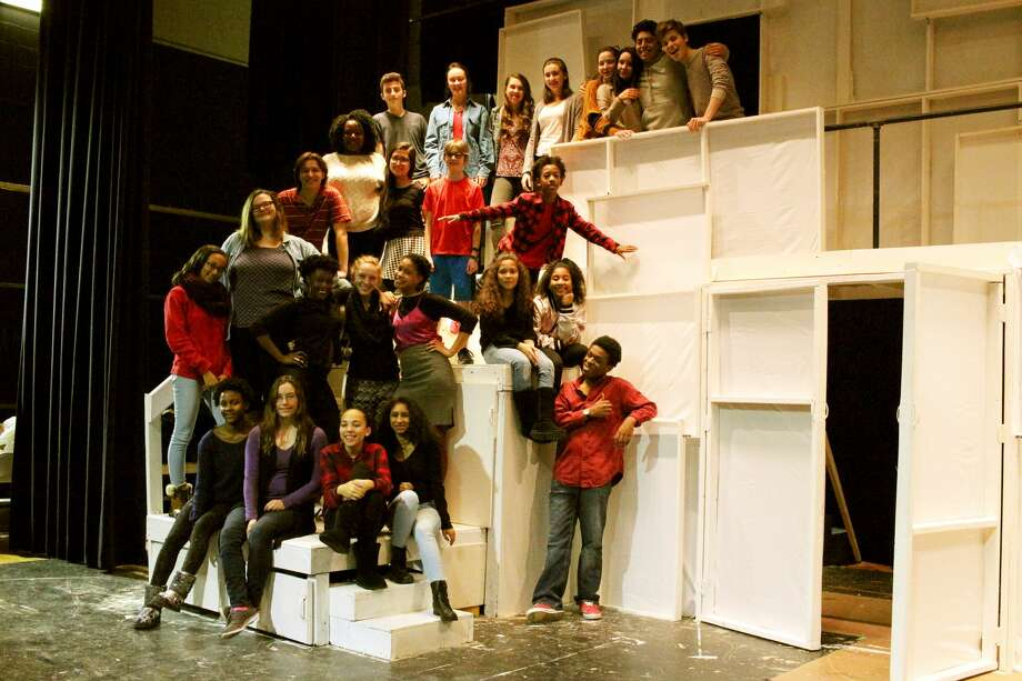 """Rehearsal photos fromAlbany High School's production of """"Oliver!"""" Photo: Provided"""