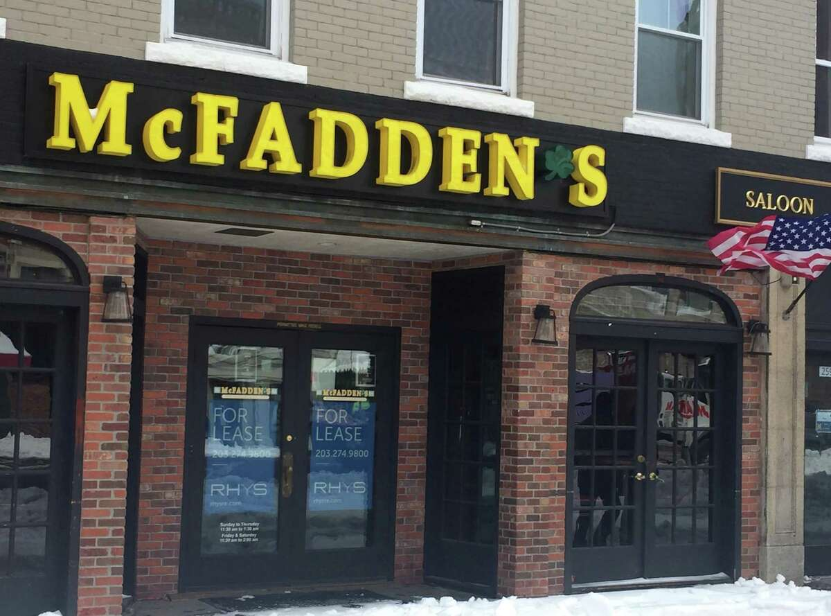 McFadden's has closed at 261 Main St., in downtown Stamford.