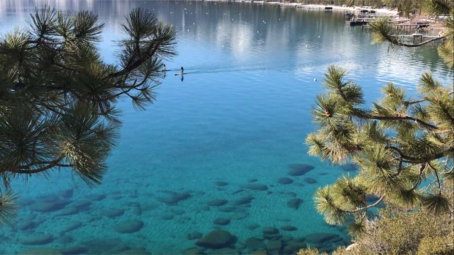 12 billion gallons of water pour into Lake Tahoe amid this week s heat wave