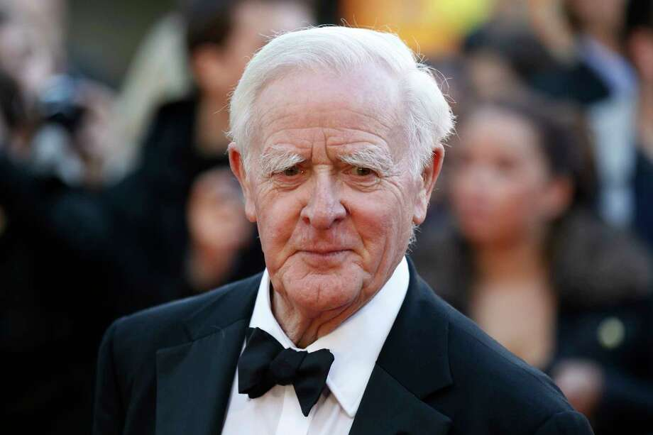 "FILE - This Sept. 13, 2011 file photo shows British author John Le Carre at the UK film premiere of ""Tinker Tailor Soldier Spy,"" in London. After a hiatus of more than 25 years, John le Carre is again writing about one of the world's most famous fictional spies. Viking said Tuesday, March 7, 2017, that le Carre's ""A Legacy of Spies"" will come out Sept. 6.  (AP Photo/Sang Tan, File) ORG XMIT: NYET150 Photo: Sang Tan / AP2011"