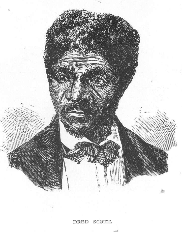 Dred Scott. Wood engraving from Frank Leslie's Illustrated Weekly, 27 June 1857. Photo: Missouri Historical Society