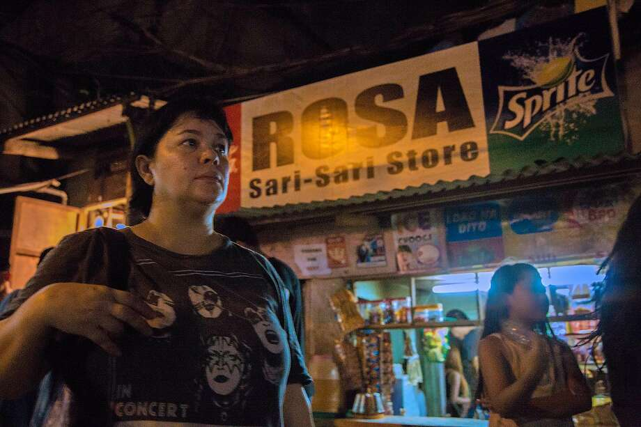 """Jaclyn Rose plays a Filipina store owner charged with selling crystal meth in """"Ma Rosa."""" Photo: SFFILM"""