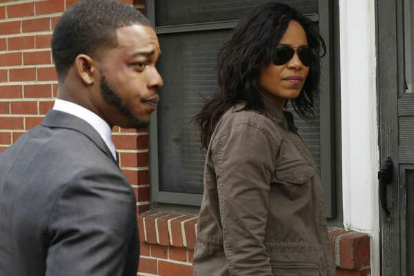 Stephan James and Sanaa Lathan star in racially charged drama 'Shots Fired' on Fox.