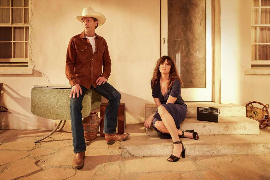 "Chris (Kathry Hahn) can't keep her mind off the artist and cowboy played by Kevin Bacon in Amazon's Marfa-set sticom ""I Love Dick."" Photo: Amazon Prime"