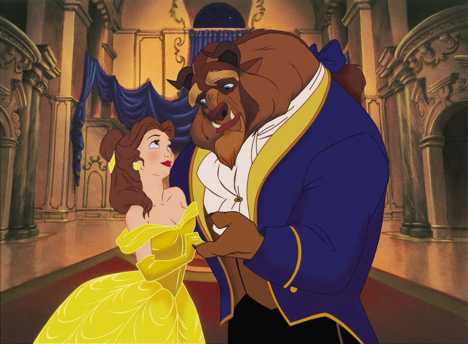 "Disney ""Beauty & the Beast 3D"" (L-R) Belle & the Beast. Â2011 Disney. All Rights Reserved. / ©2011 Disney. All Rights Reserved."