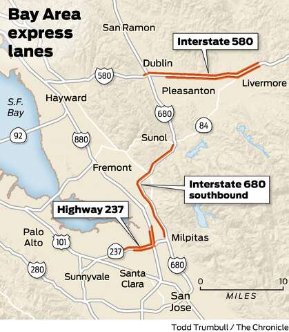 A year later, I-580 pay-to-use lanes are a success, report