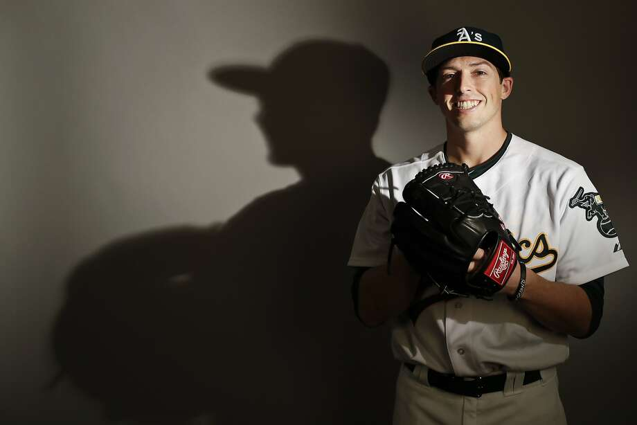 This is a 2017 photo of relief pitcher Ryan Dull of the Oakland Athletics baseball team poses for a portrait. This image reflects the Athletics active roster as of Wednesday, Feb. 22, 2017, when this image was taken. (AP Photo/Chris Carlson) Photo: Chris Carlson, Associated Press