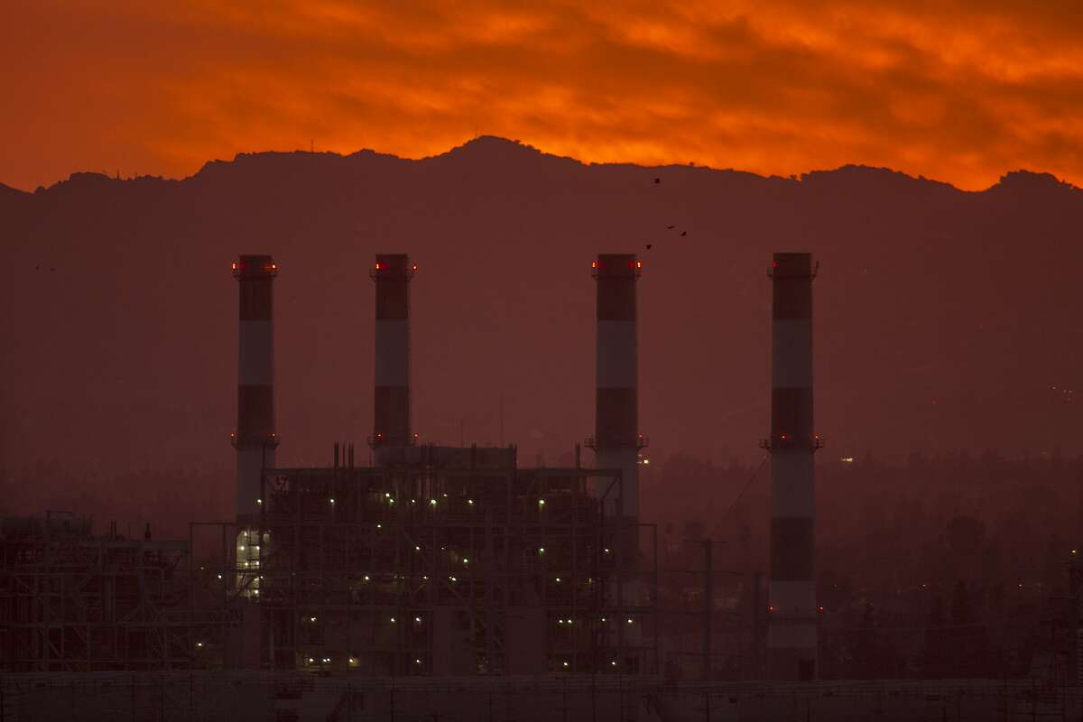 SUN VALLEY, CA - MARCH 10: The gas-powered Valley Generating Station is seen in the San Fernando Valley on March 10, 2017 in Sun Valley, California. Atmospheric carbon dioxide levels reached a new record high in 2016 and have continued to climb in the first two months of 2017, scientists at the National Oceanic and Atmospheric Administration (NOAA) reported today. The vast majority of climate scientists contend that increasing greenhouse gas emissions drive climate change but new Environmental Protection Agency (EPA) Administrator Scott Pruitt disagrees. (Photo by David McNew/Getty Images) ***BESTPIX***