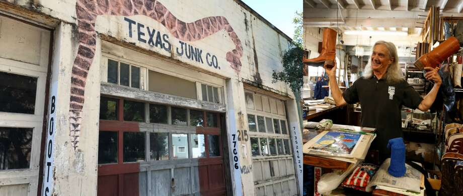 The Texas Junk Company, photographed on March 15, 2017, closed last year. Its owner considered Mary Cerruti a friend.