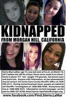 Sierra LaMar is missing from her home near Morgan Hill.