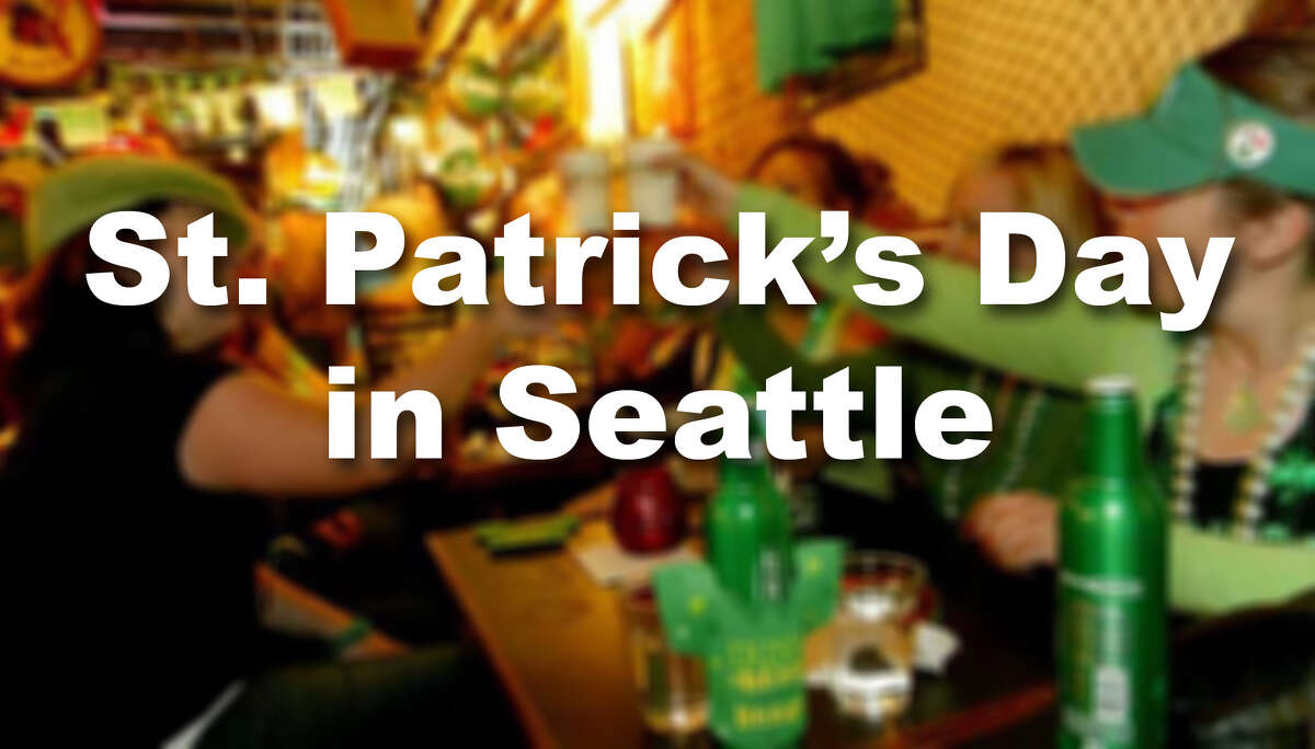 Where can you celebrate the luck o' the Irish in Seattle? Check out our suggestions.