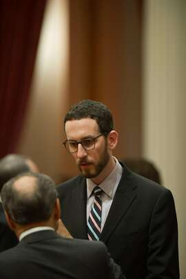 Sen. Scott Wiener, D-San Francisco, has a bill, SB239, to reduce criminal penalties for intentional HIV transmission on the governor's desk.