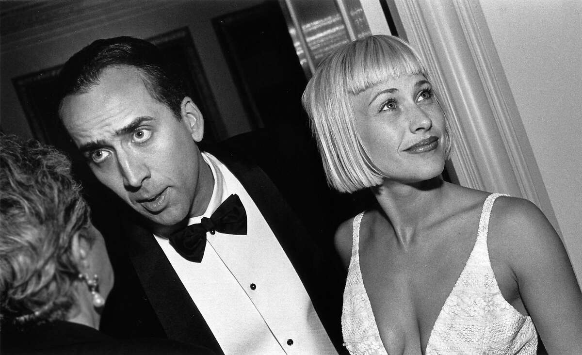 Nicolas Cage and Patricia Arquette at the 40th San Francisco International Film Festival, 1997. Credit: Courtesy of SFFILM