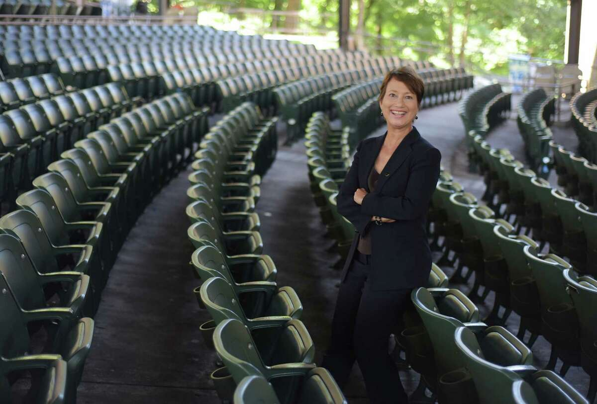 Elizabeth Sobol, the new president and CEO of SPAC, poses for a photo at SPAC on Thursday, August 18, 2016, in Saratoga Springs, N.Y. (Paul Buckowski / Times Union)