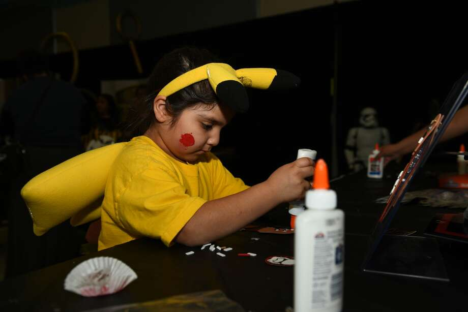 The Laredo Public Library celebrates the Day of the Geek on Thursday, March 16, 2017. Photo: Danny Zaragoza/Laredo Morning Times