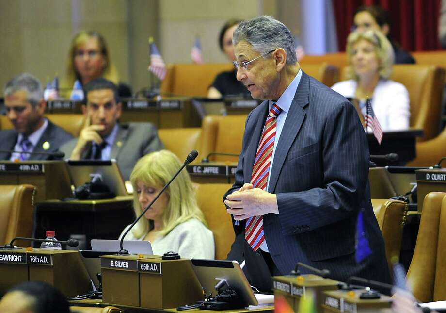 Assemblyman Sheldon Silver speaks during session in the Assembly chamber at the New York State Capitol on Wednesday, June 24, 2015 in Albany, N.Y. (Lori Van Buren / Times Union) Photo: Lori Van Buren / 00032380A