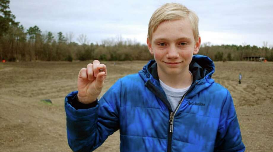 Kalel Langford discovered a 7.44-carat brown diamond at Crater of Diamonds state park in Arkansas.>>Click to see the stone up close, as well as public parks in Texas. Photo: Crater Of Diamonds Arkansas State Park