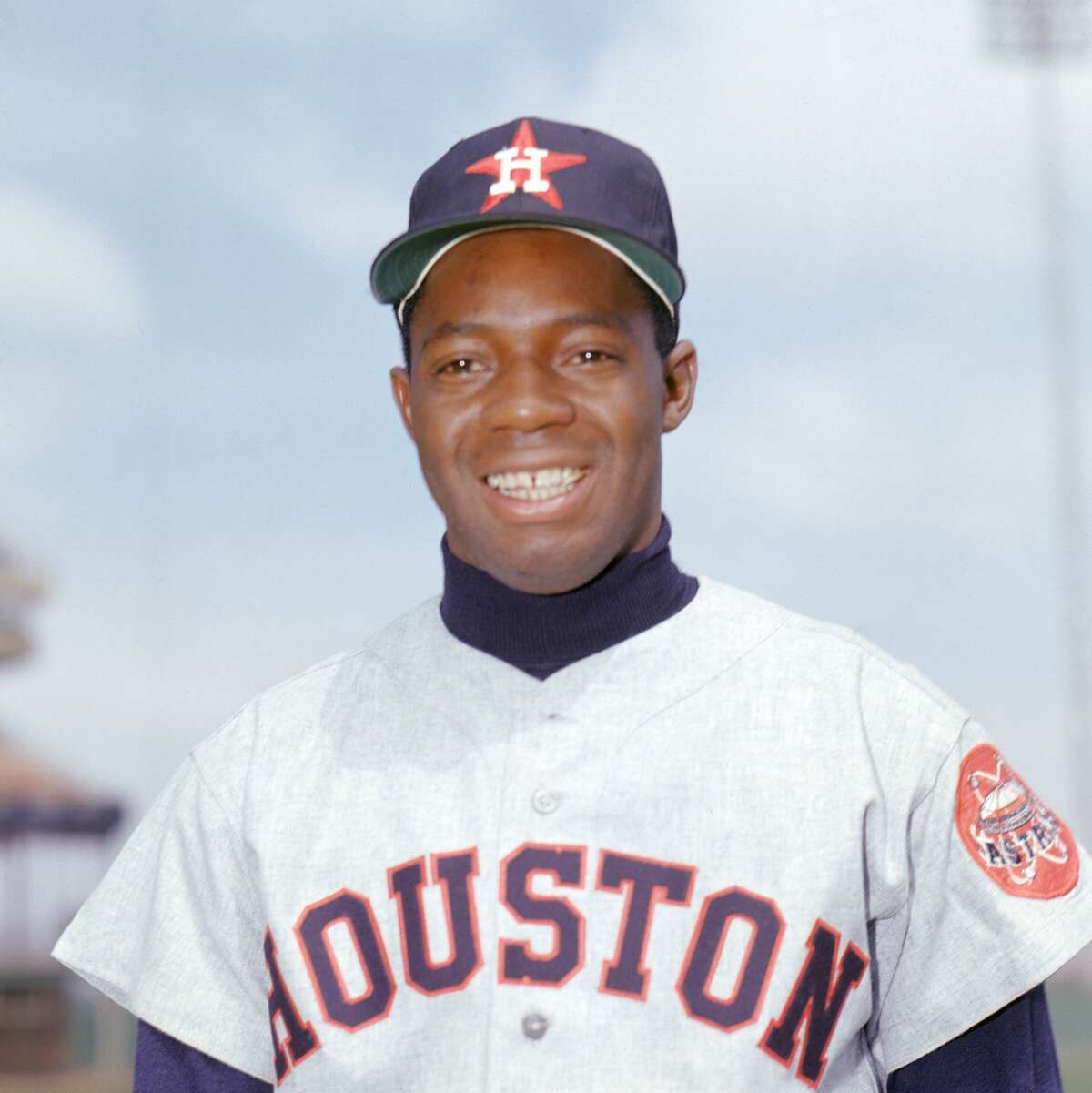 UNDATED: Jimmy Wynn of the Houston Astros poses for a portrait circa 1965 - 1973. (Photo by Louis Requena/MLB Photos via Getty Images)