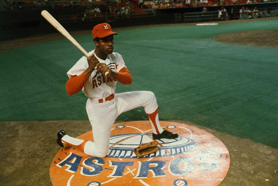 Houston Astros' outfielder Cesar Cedeno once