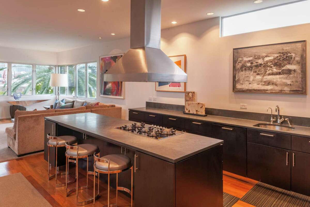 Stanford Street: Homeowner Dick Davis loves that his kitchen is functional and beautiful.