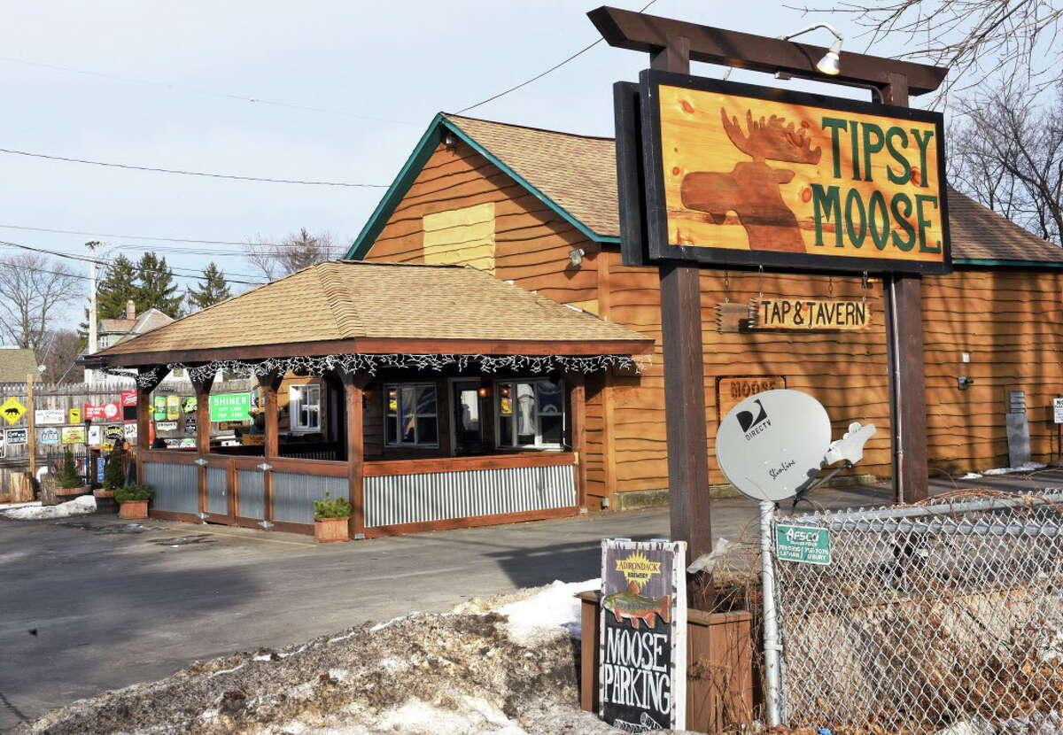 Best bar for beer: No. 2: Tipsy Moose, Latham.