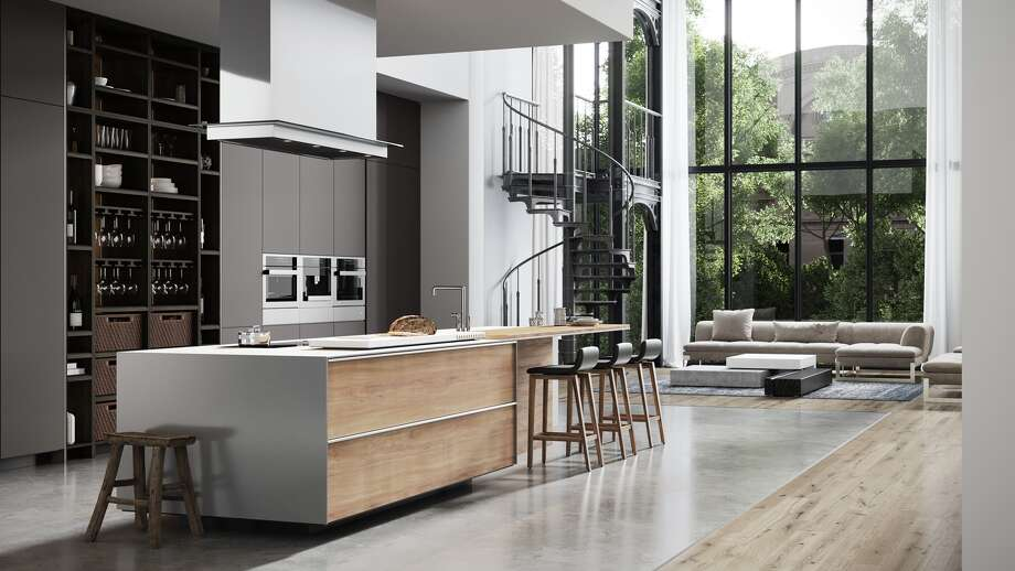 This kitchen features nano technology surfaces. Photo: Courtesy Of DeWils Fine Cabinetry