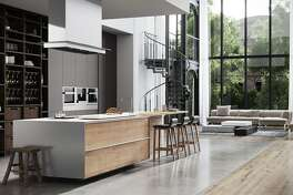 This kitchen features nano technology surfaces.