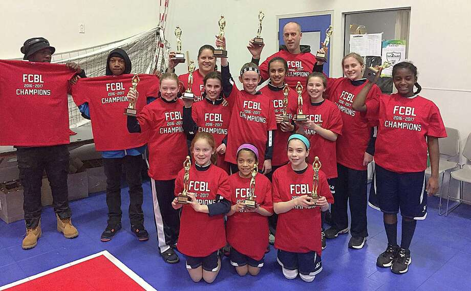 The Wilton fifth grade girls basketball team, sponsored by Wilton Sports Shop and coached by Cricket Luke, closed out a very successful season by winning the FCLB title. Photo: John Nash / Hearst Connecticut Media / Norwalk Hour