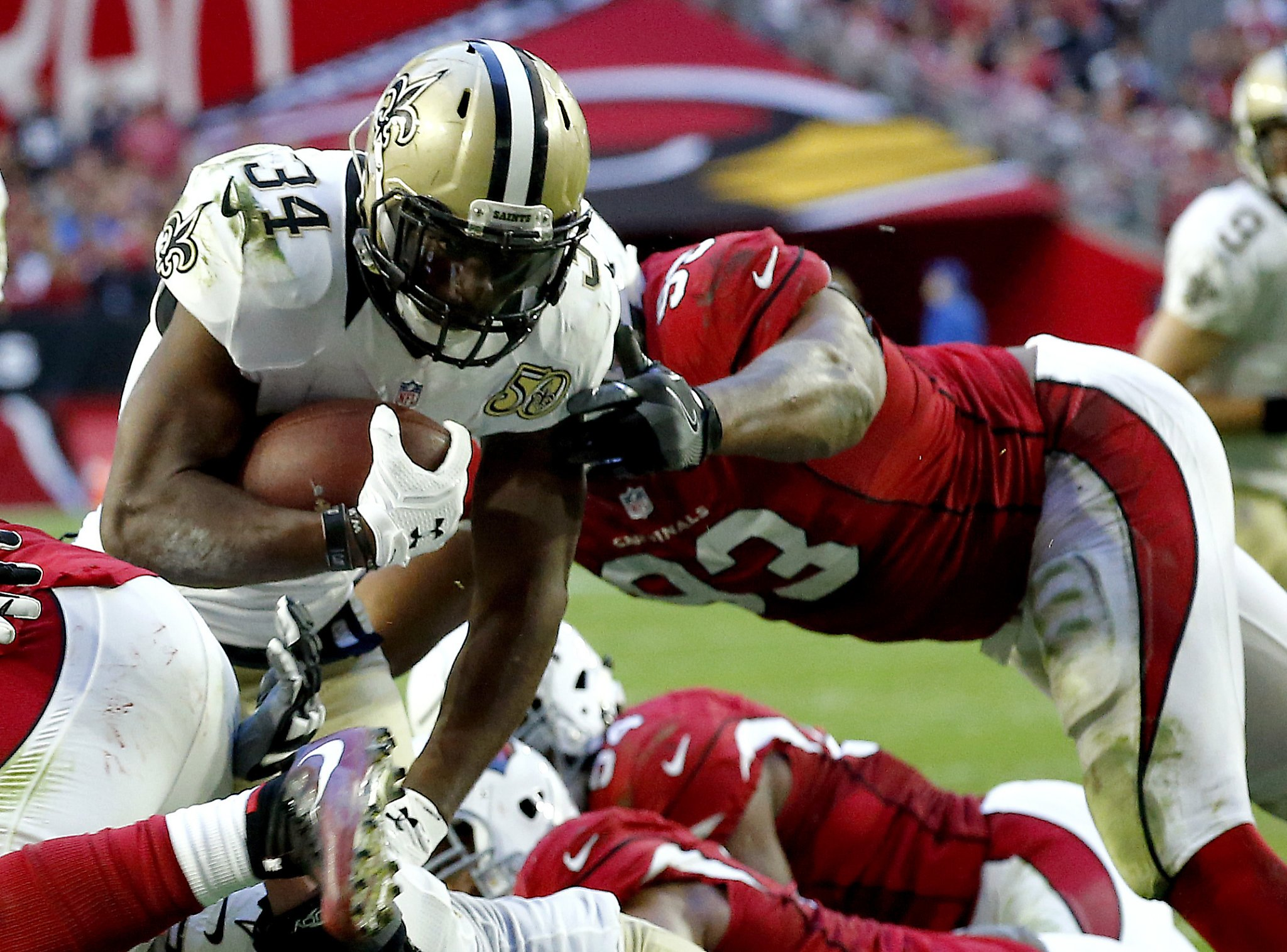 49ers agree to terms with ex-Saints RB Tim Hightower