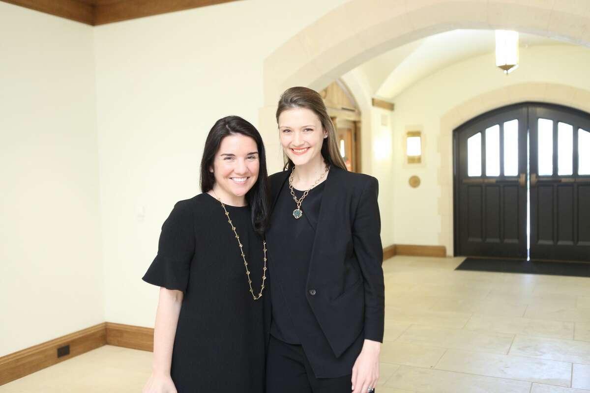 Aileen Hogan and Annie Eifler at Breakthrough's ninth annual luncheon