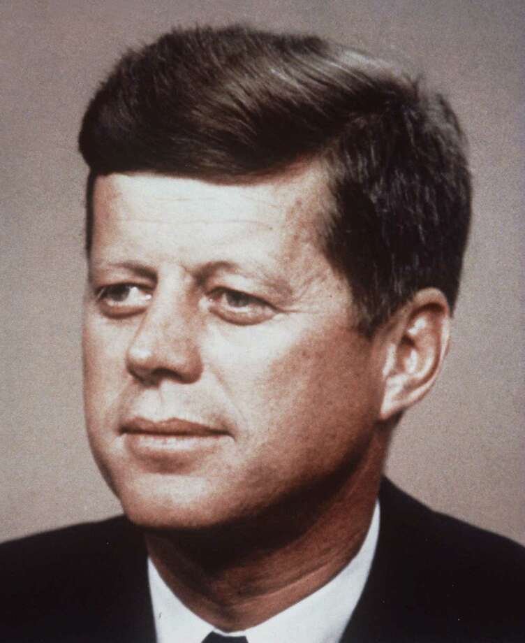 FILE--Friday, Nov. 22, 1996, marks the 33rd anniversary of the 1963 assassination of President John F. Kennedy, shown in this undated file photo. (AP Photo/File) / AP