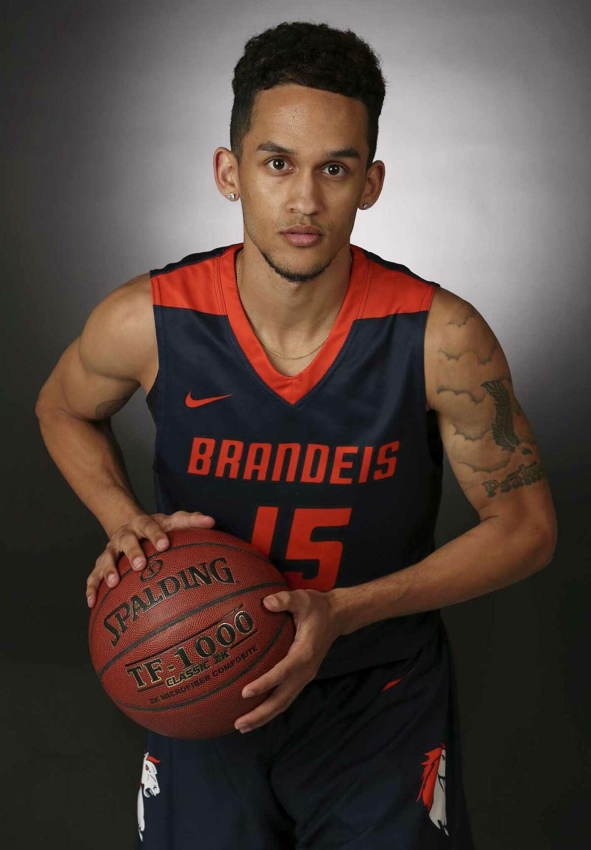 Brandeis' Kobe Magee was a member of the 2016-17 Express-News Boys Basketball Super Team.
