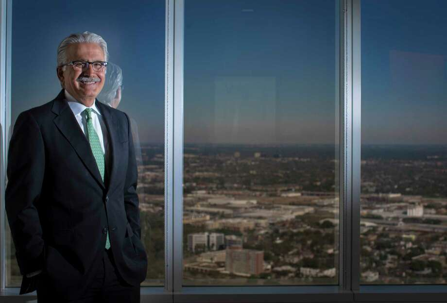 Ali Moshiri, president of Chevron's Africa and Latin America operations, is retiring after 39 years with the company. Moshiri, based in Houston, pioneered a new kind of social responsibility program within Chevron: One that didn't just give money to causes, but partnered with developing countries to help solve critical health, education and environmental problems there. Tuesday, March 14, 2017, in Houston. ( Marie D. De Jesus / Houston Chronicle ) Photo: Marie D. De Jesus, Staff / © 2017 Houston Chronicle