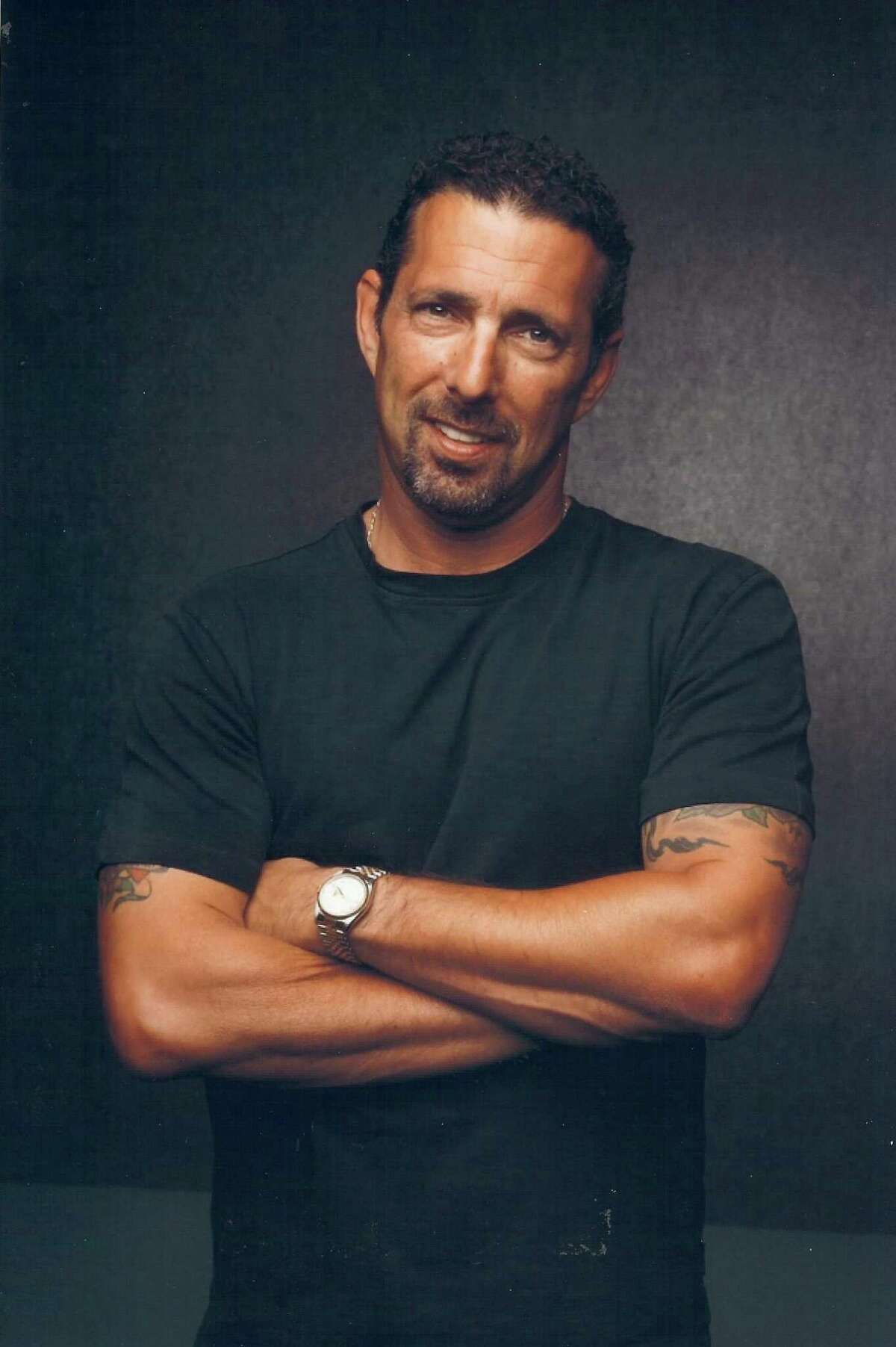 Comedian Rich Vos performs at The Treehouse Comedy Club, below Bistro B at the Westport Inn, on Saturday, March 25.