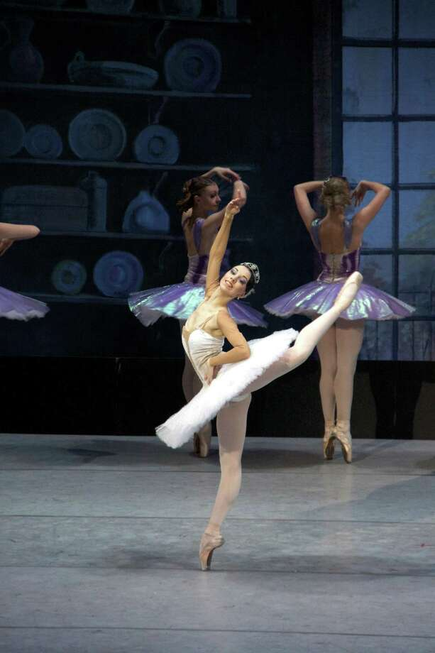 "The Russian National Ballet Theater's production of the beloved fairy tale ballet, ""Cinderella,"" comes to the Quick Center on Wednesday, March 29. Photo: Russian National Ballet Theater / Contributed Photo"