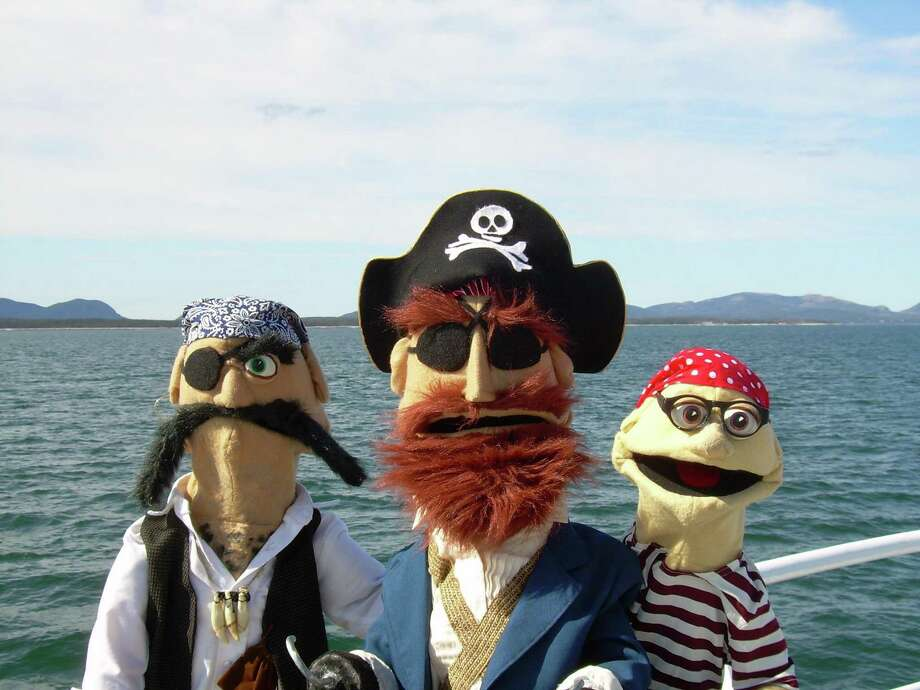 "Frogtown Mountain Puppeteers will be invading Stamford with ""Everybody Loves Pirates"" on Sunday, March 26. Photo: Frogtown Mountain Puppeteers / Contributed Photo / Copyright 2006"