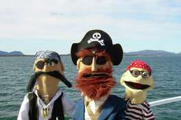"Frogtown Mountain Puppeteers will be invading Stamford with ""Everybody Loves Pirates"" on Sunday, March 26."