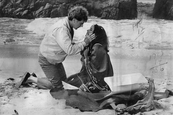 "Movie ""The Sandpiper""  with Elizabeth Taylor and Richard Burton.  1965  Ran Ju 4 1965 DB p.2; Jan 21 1973 DB p.9"