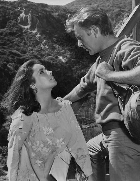 "Elizabeth Taylor and Richard Burton in ""The Sandpiper"": A shocked world ogled their devil-may-care real-life romance, but scorned the film."