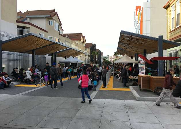 Mission Community Market unveils new multi-use public space, La Placita