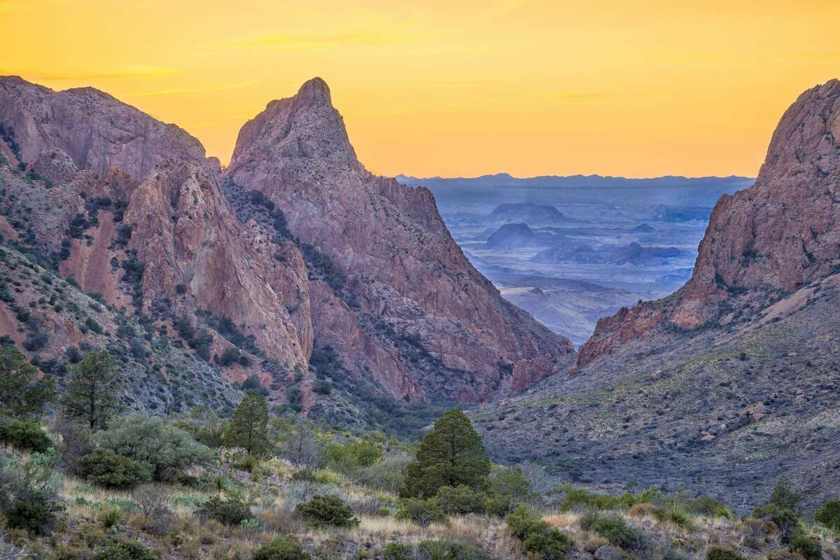 B is for Big Bend National Park Not only can you experiencemore than 1,200 square miles of wildlife and adventure, you can also get a great history lesson by visiting the archaeologicalsites that date back thousands of years.Big Bend is one of the least visited national parks in the country.