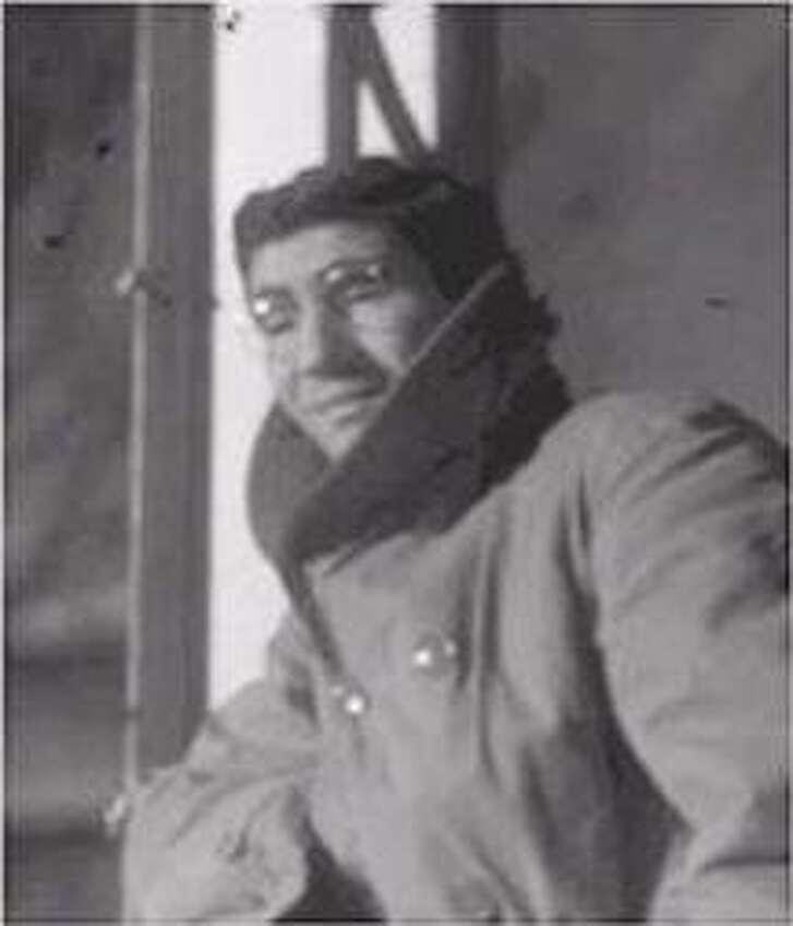 Obituary photo of Leo Krikorian.  Photograph by Felix T. Krowinski, � Black Mountain College Project.