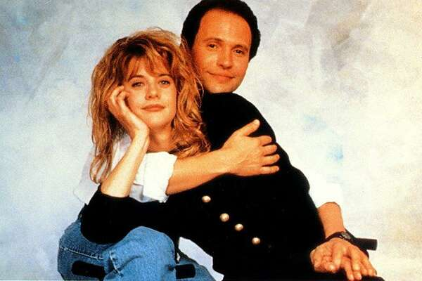 "Meg Ryan and Billy Crystal starred together in the romantic comedy, ""When Harry Met Sally."""